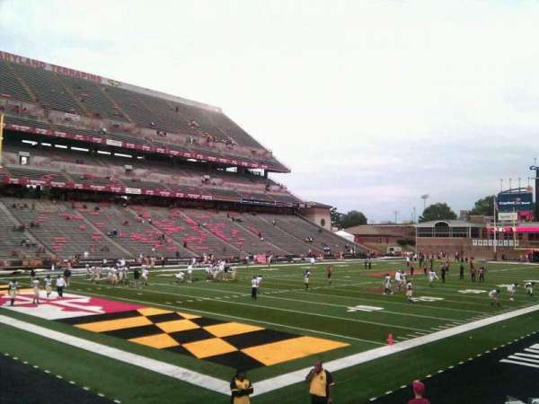 Maryland Stadium, section: 19, row: o, seat: 10