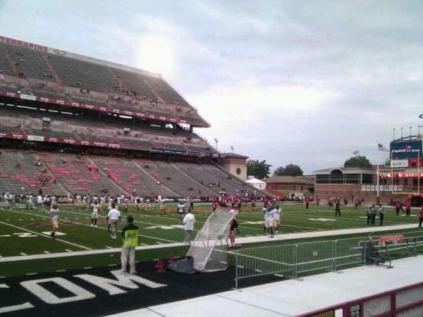 Maryland Stadium, section: 22, row: e, seat: 12