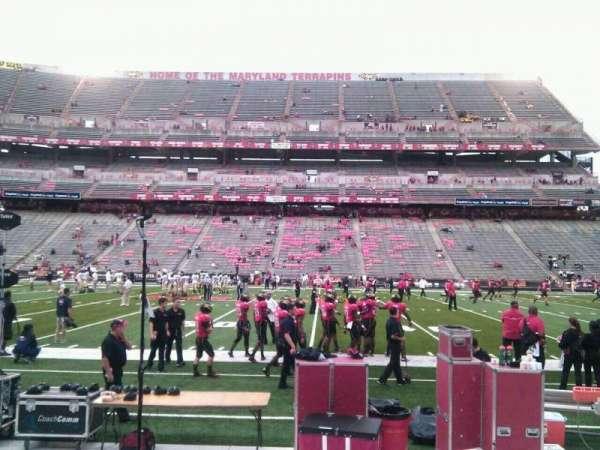 Maryland Stadium, section: 25, row: e, seat: 19