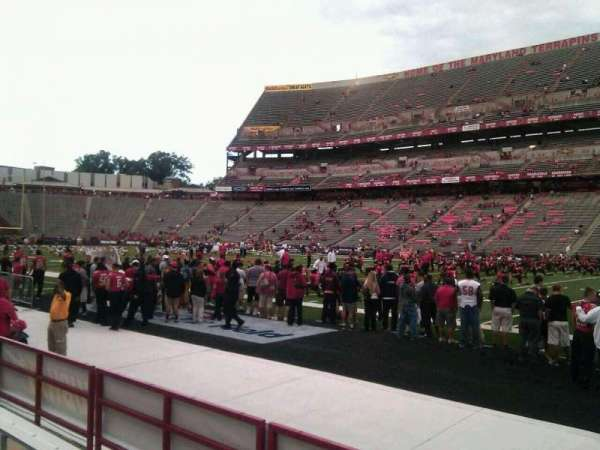 Maryland Stadium, section: 28, row: d, seat: 25