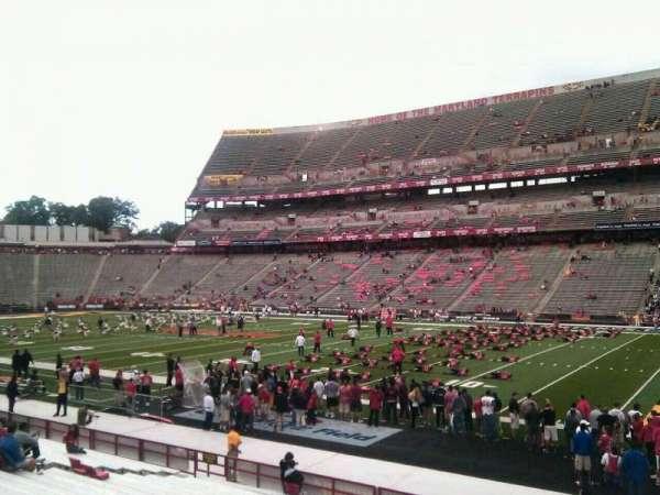 Maryland Stadium, section: 28, row: u, seat: 30