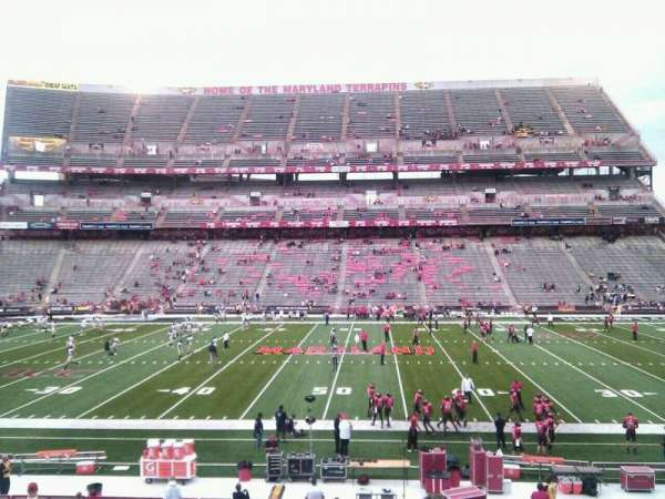 Maryland Stadium, section: 25, row: ff, seat: 14