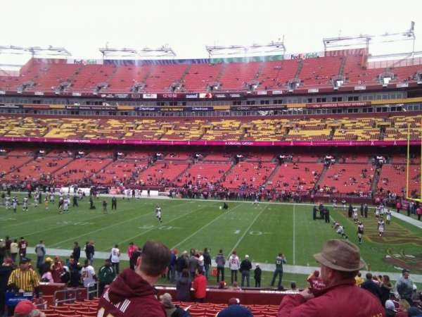 FedEx Field, section: 140, row: 18, seat: 13