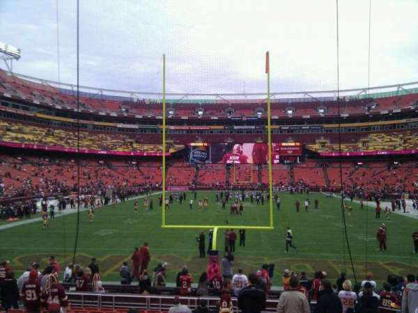 FedEx Field, section: 111, row: 16, seat: 10
