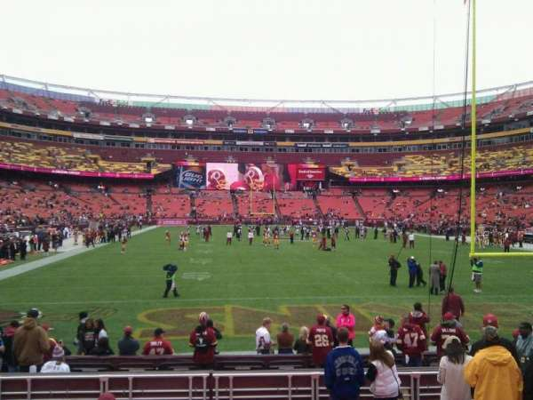 FedEx Field, section: 112, row: 11, seat: 10