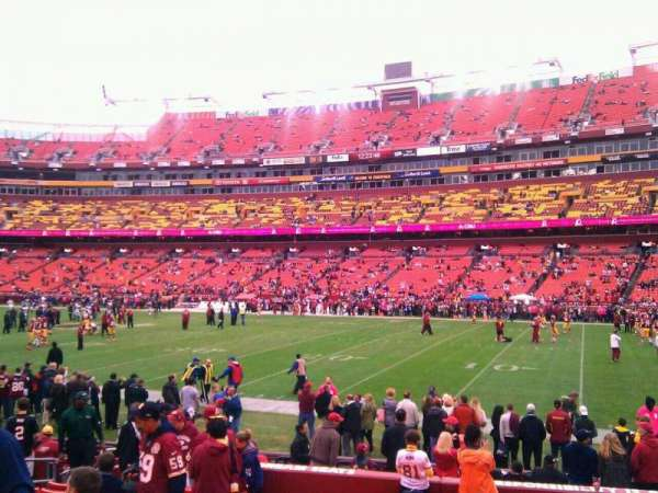 FedEx Field, section: 118, row: 11, seat: 10