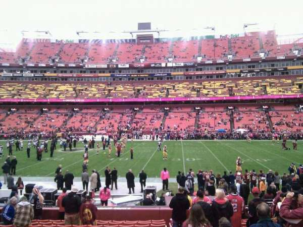 FedEx Field, section: 120, row: 15, seat: 10
