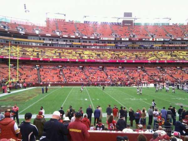 FedEx Field, section: 125, row: 11, seat: 10