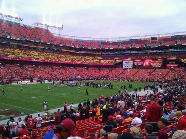 FedEx Field, section: 127, row: 19, seat: 10
