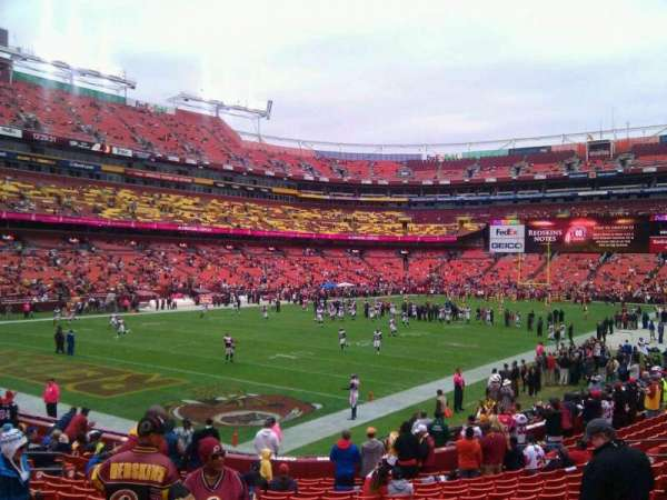 FedEx Field, section: 128, row: 19, seat: 10