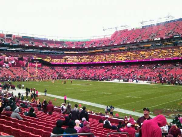 FedEx Field, section: 137, row: 19, seat: 10