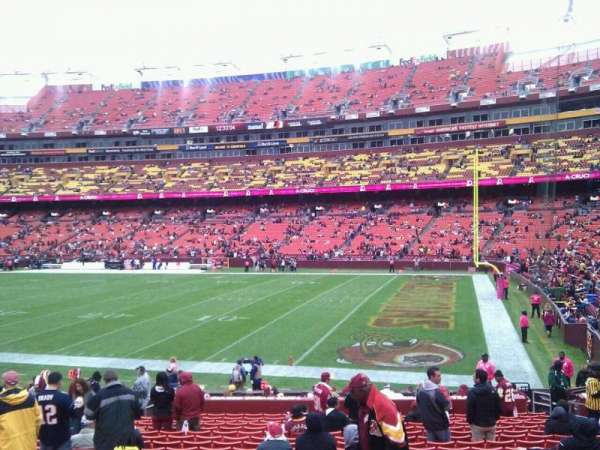 FedEx Field, section: 138, row: 19, seat: 10