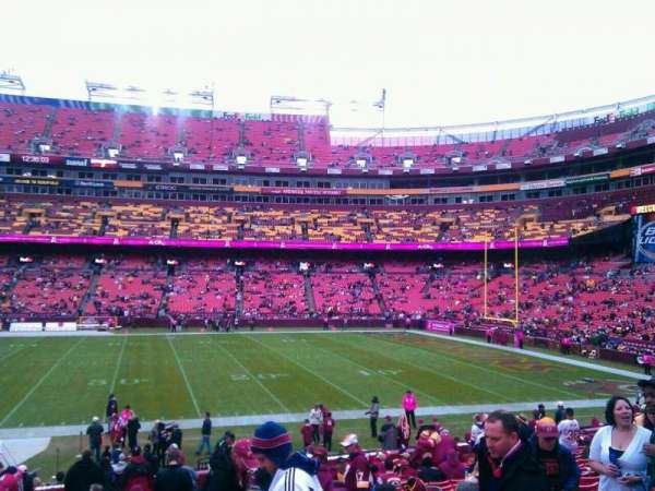 FedEx Field, section: 141, row: 14, seat: 10