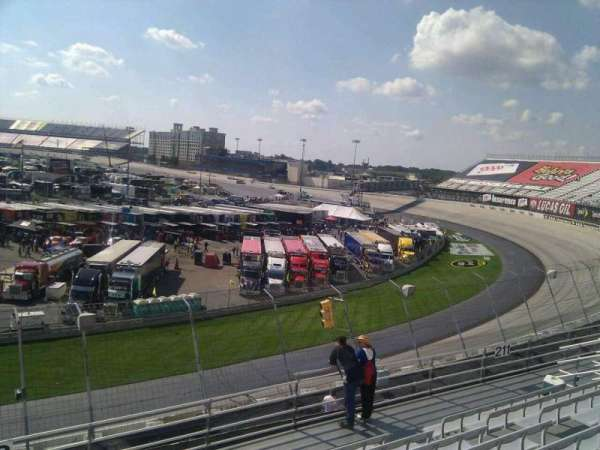Dover International Speedway, section: 212, row: 9, seat: 9