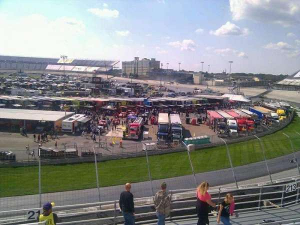 Dover International Speedway, section: 215, row: 9, seat: 9