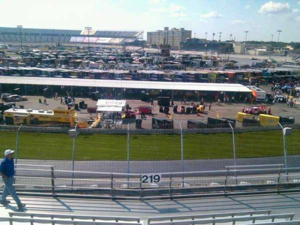 Dover International Speedway, section: 219, row: 9, seat: 9