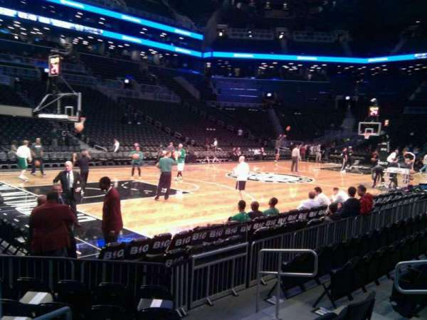 Barclays Center, section: 12, row: 5, seat: 3