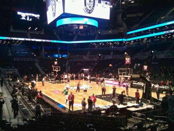 Barclays Center, section: 20, row: 11, seat: 2