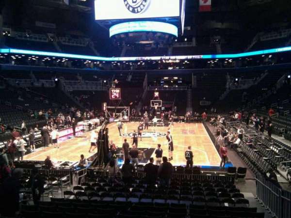 Barclays Center, section: 31, row: 12, seat: 13