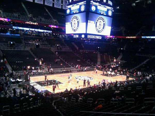 Barclays Center, section: 111, row: 5, seat: 16