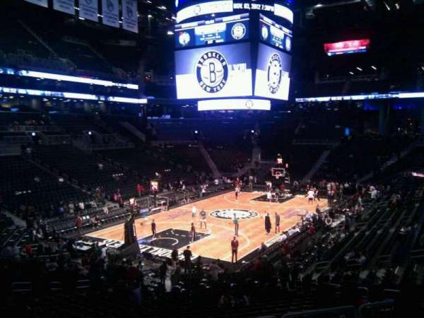 Barclays Center, section: 114, row: 5, seat: 2