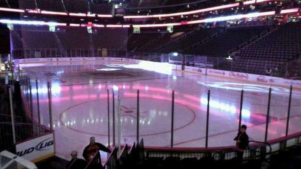 Prudential Center, section: 12, row: 10, seat: 12