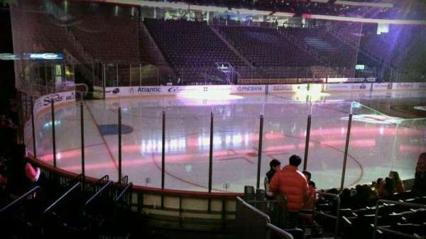 Prudential Center, section: 16, row: 10, seat: 4