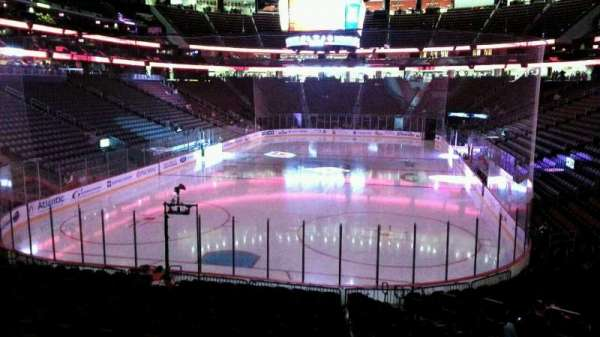 Prudential Center, section: 3, row: 18, seat: 6
