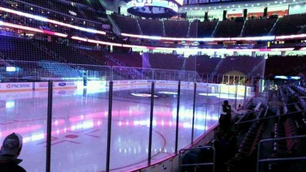 Prudential Center, section: 5, row: 6, seat: 8