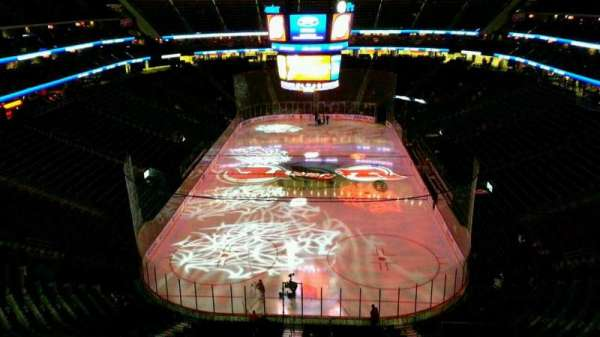 Prudential Center, section: 103, row: 9, seat: 4