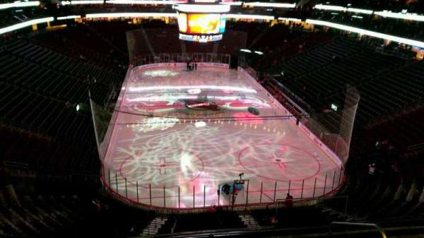 Prudential Center, section: 102, row: 6, seat: 4