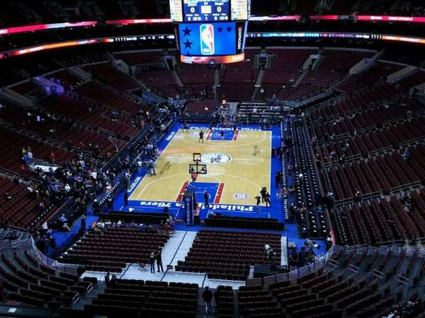 Wells Fargo Center, section: 207a, row: 6, seat: 10