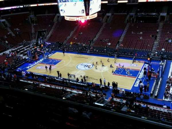 Wells Fargo Center, section: 203, row: 8, seat: 14