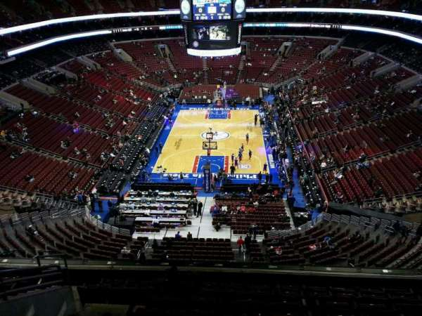Wells Fargo Center, section: 219a, row: 9, seat: 6