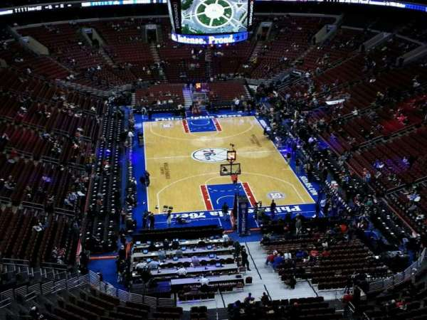 Wells Fargo Center, section: 219, row: 10, seat: 6