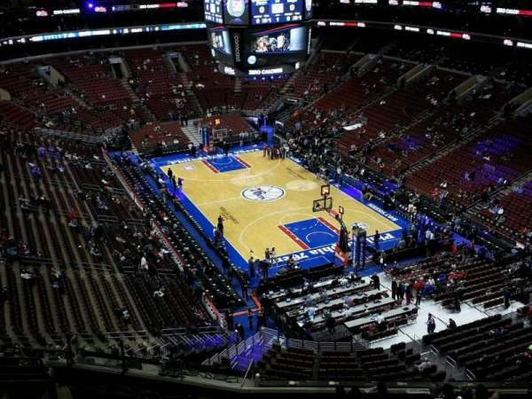Wells Fargo Center, section: 217a, row: 12, seat: 11