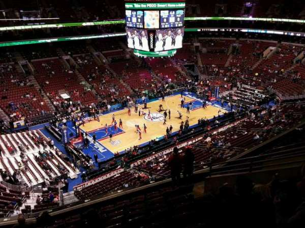 Wells Fargo Center, section: 210a, row: 10, seat: 7
