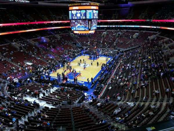 Wells Fargo Center, section: 209, row: 3, seat: 6