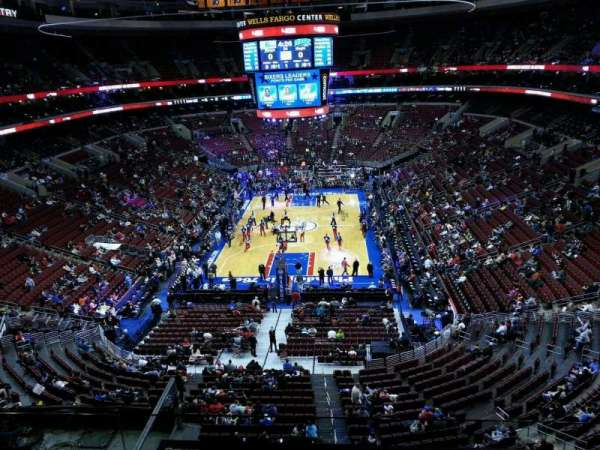 Wells Fargo Center, section: 207a, row: 3, seat: 9