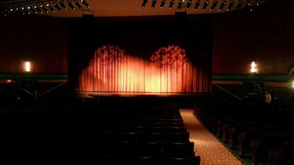 Landis Theater, section: orchestra center, row: w, seat: 101