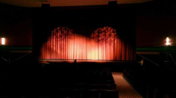 Landis Theater, section: orchestra center, row: s, seat: 101