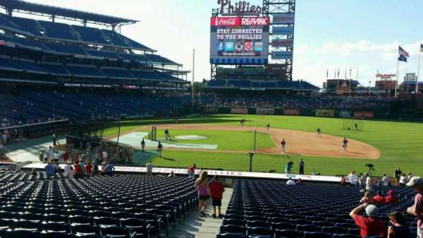 Citizens Bank Park, section: 116, row: 33, seat: 18