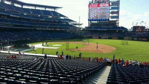 Citizens Bank Park, section: 114, row: 35, seat: 19