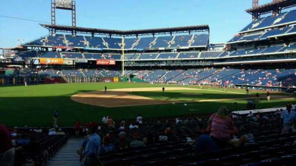 Citizens Bank Park, section: 133, row: 26, seat: 17