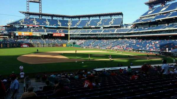 Citizens Bank Park, section: 132, row: 27, seat: 18