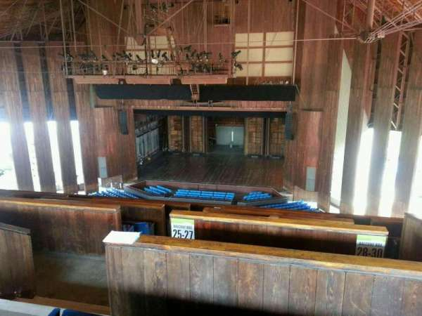 The Mann, section: Balcony 300, row: CCC, seat: 302