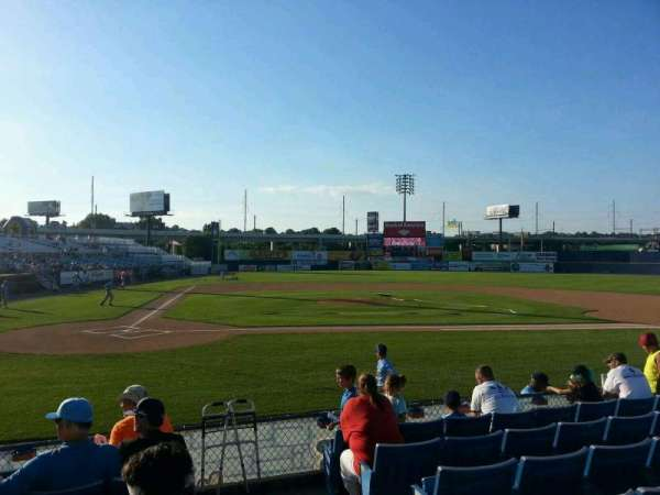 Frawley Stadium, section: 11, row: 7, seat: 1