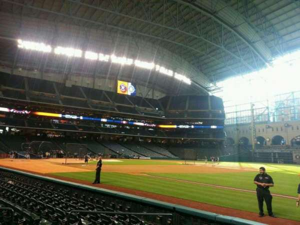 Minute Maid Park, section: 129, row: 7, seat: 7