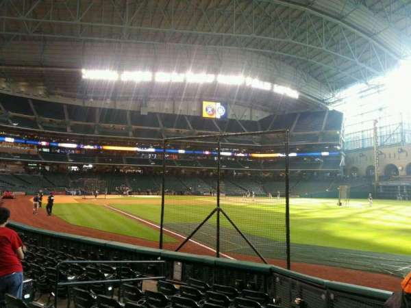 Minute Maid Park, section: 133, row: 8, seat: 8