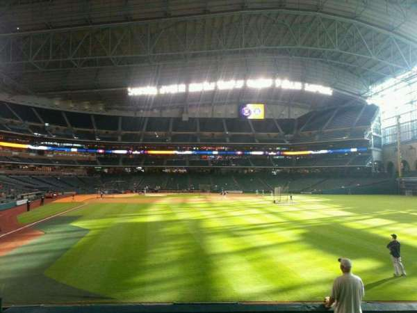 Minute Maid Park, section: 152, row: 8, seat: 12